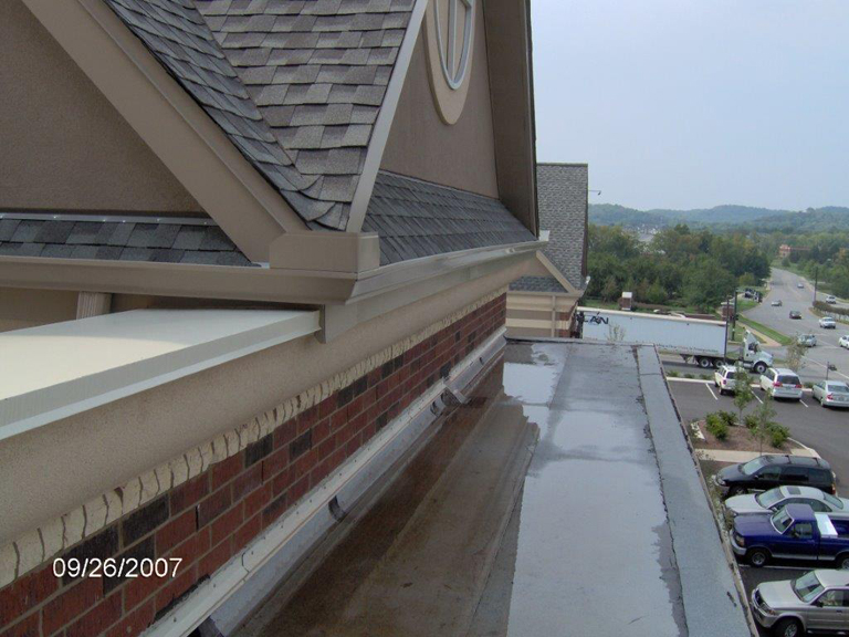 Crab Orchard Commercial Roof Leak Detection Repair